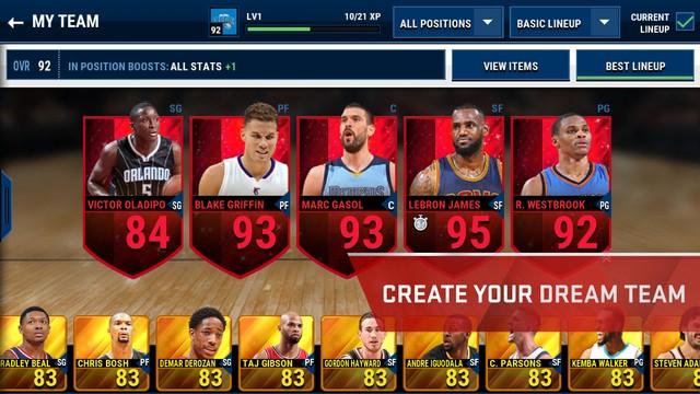 NBA Live Mobile Screenshot #2 for iOS