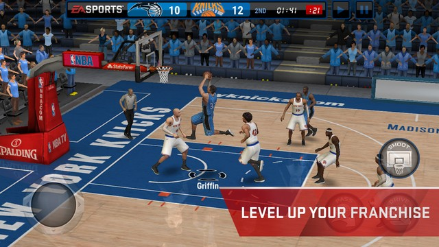 NBA Live Mobile Screenshot #4 for iOS