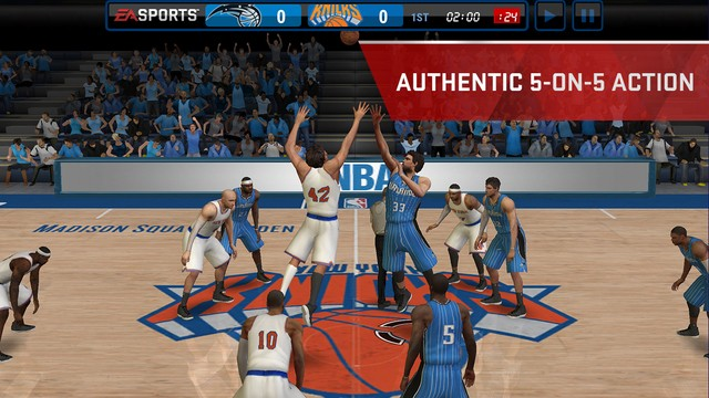 NBA Live Mobile Screenshot #5 for iOS