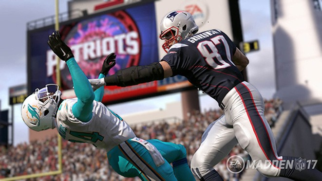 Madden NFL 17 Screenshot #5 for PS4