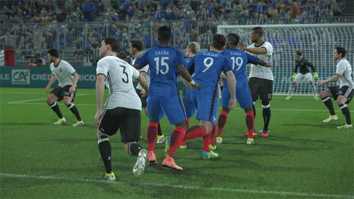PES 2017 Screenshot #1 for PS4
