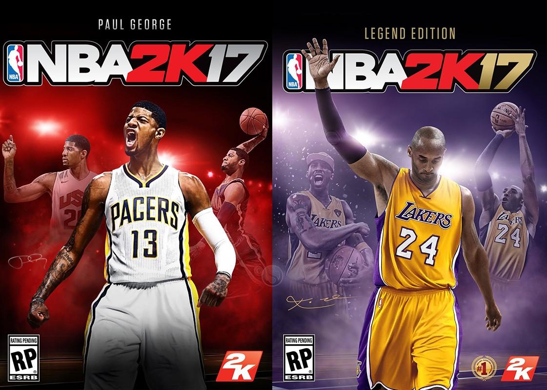 Nba 2k17 Standard Kobe Bryant Legend Kobe Bryant Legend