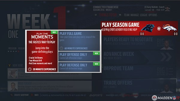 Madden NFL 17 Screenshot #124 for PS4