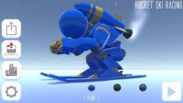 Rocket Ski Racing Screenshot #1 for iOS