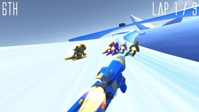 Rocket Ski Racing Screenshot #2 for iOS