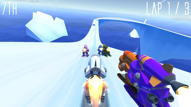 Rocket Ski Racing Screenshot #4 for iOS