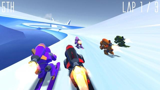 Rocket Ski Racing Screenshot #5 for iOS
