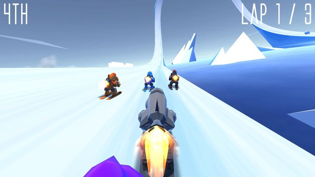 Rocket Ski Racing Screenshot #3 for Android, iOS