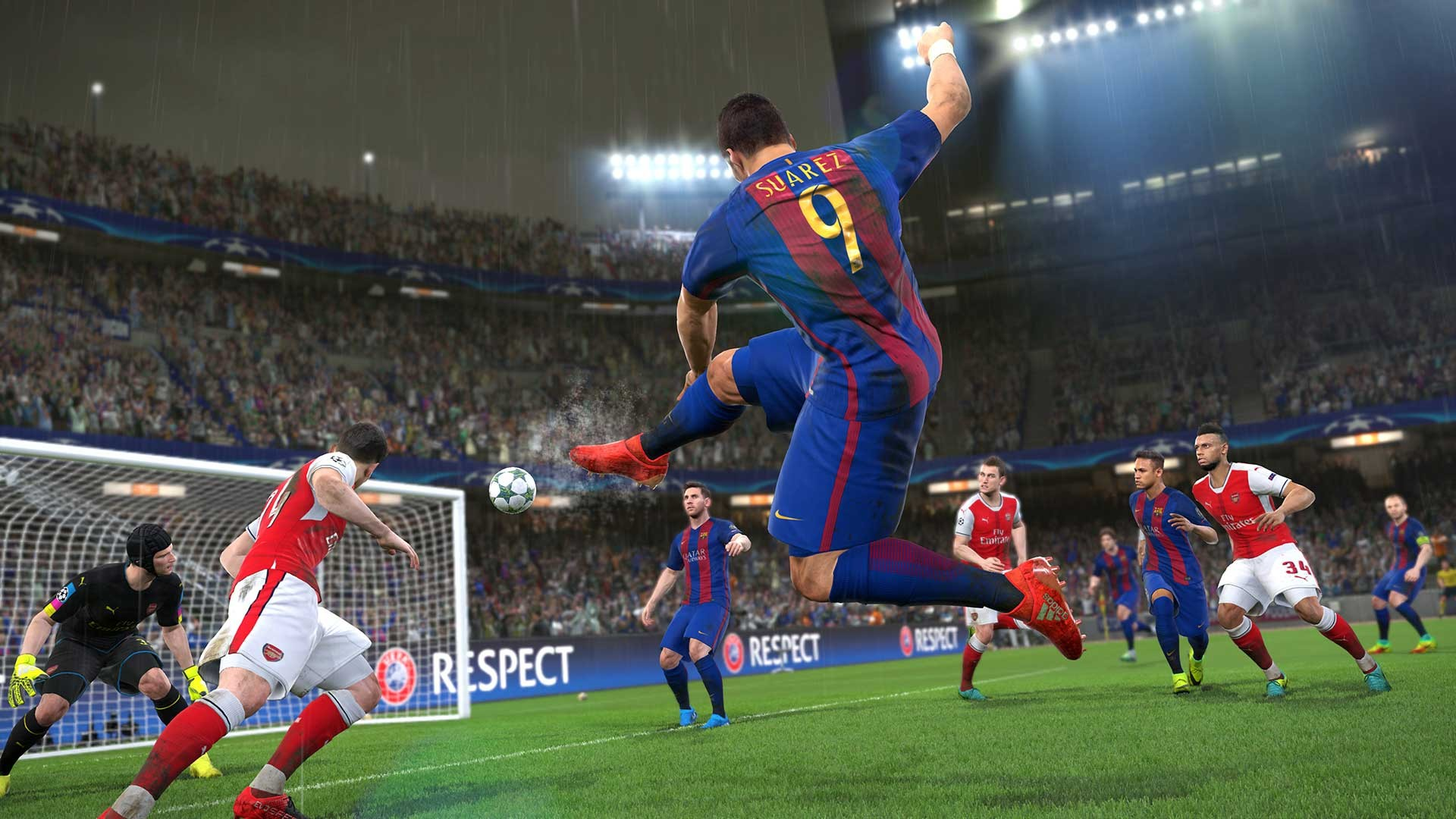 Tons of PES 2017 Gameplay Videos, Screenshots & Details From