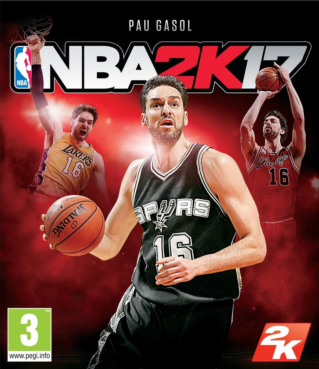 Pau Gasol Is The NBA 2K17 Cover Athlete In Spain