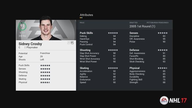 NHL 17 Screenshot #154 for PS4