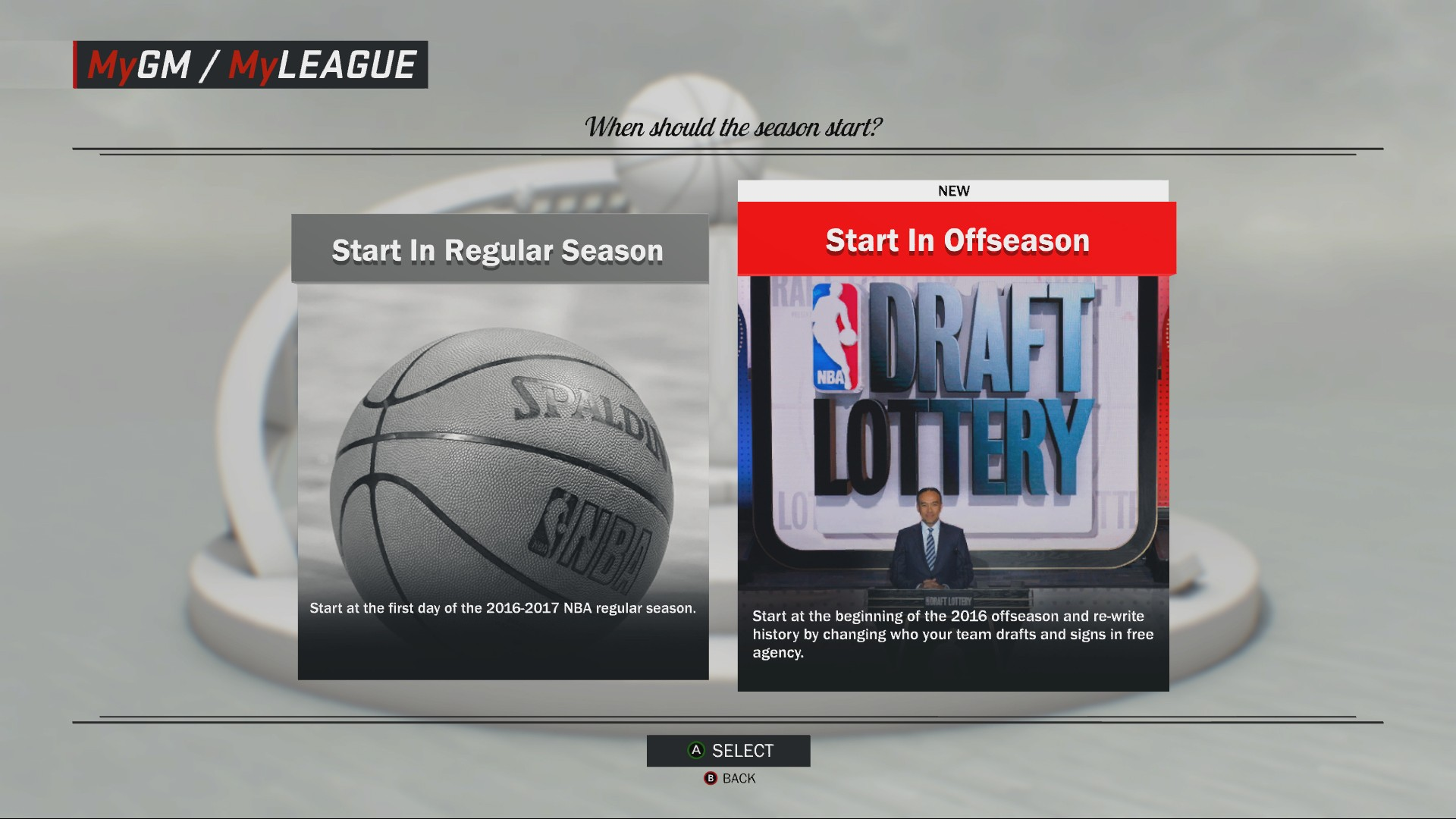 how to change minutes in 2k17 mygm
