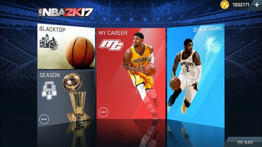 NBA 2K17 Mobile Screenshot #3 for iOS