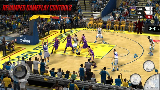 NBA 2K17 Mobile Screenshot #5 for iOS