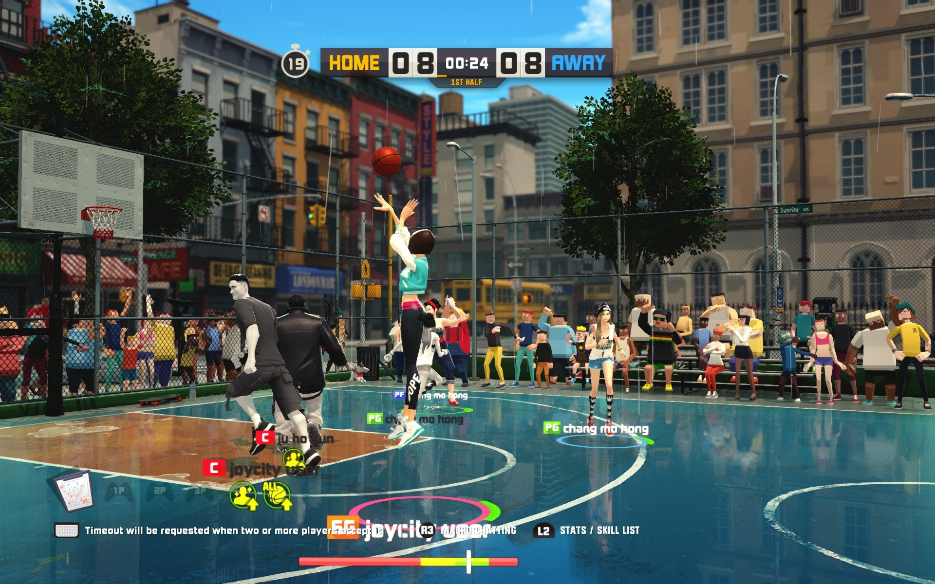 3on3 freestyle screenshot 55 for ps4   operation sports