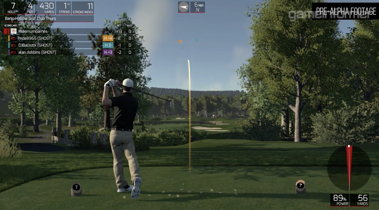 the golf club 2 screenshot 3 for ps4 operation sports. Black Bedroom Furniture Sets. Home Design Ideas
