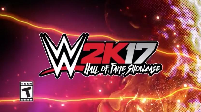WWE 2K17 Hall of Fame Showcase Arrives Tomorrow