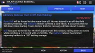 MLB Manager 2017 screenshot #16 for iOS - Click to view
