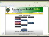 Dynasty League Baseball Online Screenshot #3 for PC - Click to view