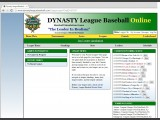 Dynasty League Baseball Online Screenshot #72 for PC - Click to view