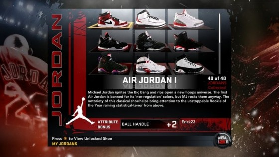 NBA 2K11 Developer Insights: Jordan Shoes