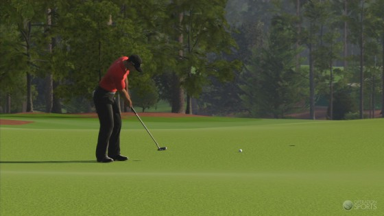 According to ESPN, Tiger Woods PGA TOUR 12 will feature Augusta National.