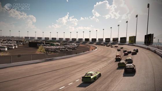 Nascar the game 2011 screenshots las vegas motor speedway for How long is las vegas motor speedway