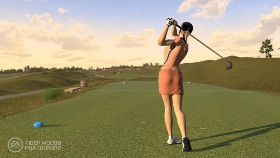 ... PGA TOUR 12: The Masters Screenshots - Natalie Gulbis and Justin Rose