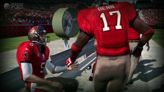Madden NFL 12 Player Ratings - New Orleans Saints and Tampa Bay
