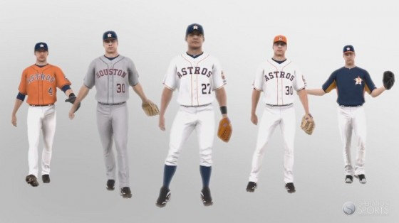 reputable site 629c1 c970d New Houston Astros Uniforms Shown in MLB 13 The Show ...