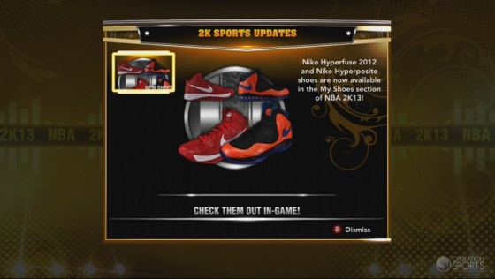 nba 2k13 adds nike hyperfuse 2012 nike hyperposite shoes