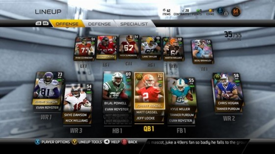 That madden ultimate team is back for another year in madden 15