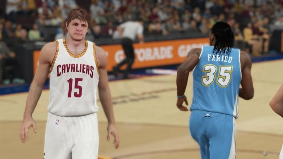 NBA 2K15 Official Roster Update 26 February 2015