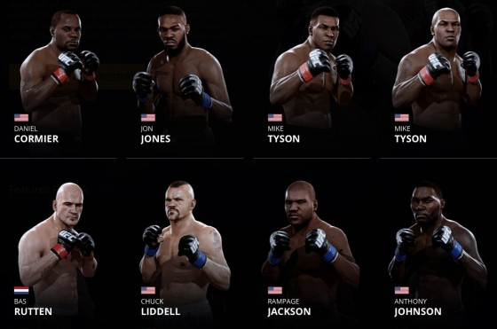 the complete ea sports ufc 2 roster operation sports