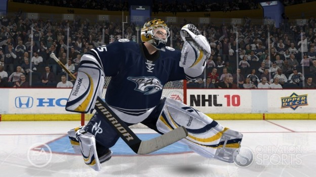 NHL 10 Screenshot #113 for Xbox 360