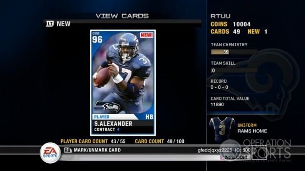 Madden Ultimate Team Screenshot #16 for Xbox 360