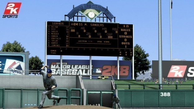 Major League Baseball 2K8 Screenshot #2 for PS3