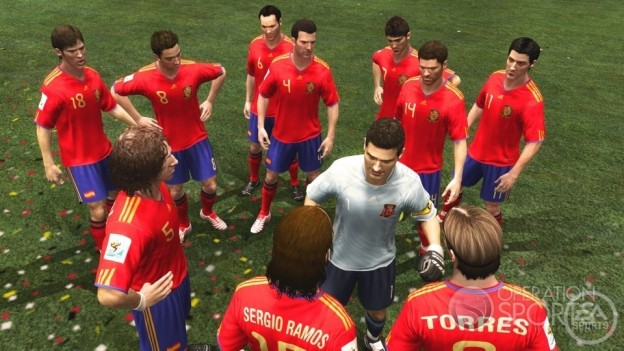 2010 FIFA World Cup Screenshot #10 for Xbox 360