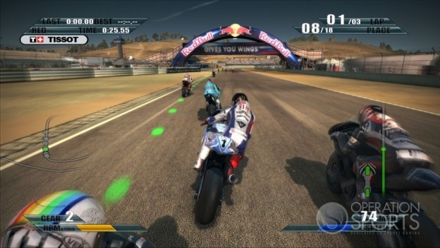 MotoGP 09/10 Screenshot #10 for Xbox 360