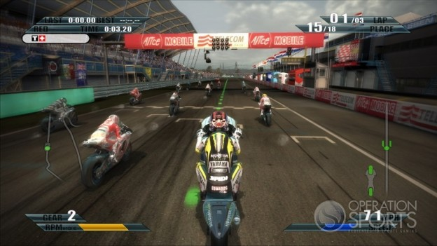 MotoGP 09/10 Screenshot #11 for Xbox 360