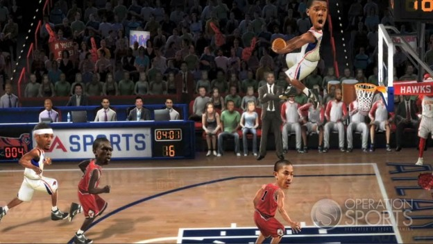 EA Sports NBA JAM Screenshot #2 for Wii