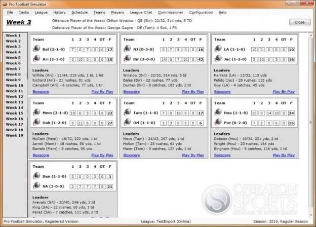 Professional Football Simulator Screenshot #2 for PC
