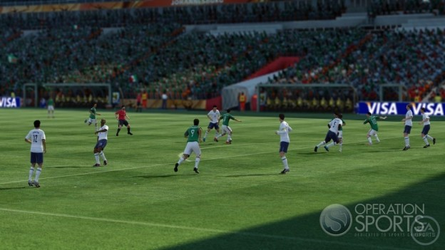 2010 FIFA World Cup Screenshot #17 for Xbox 360