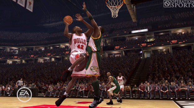 NBA Live 08 Screenshot #1 for Xbox 360