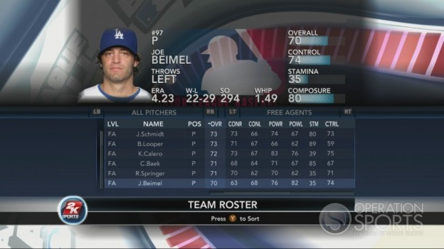Major League Baseball 2K10 Screenshot #66 for Xbox 360