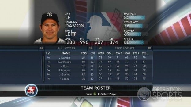 Major League Baseball 2K10 Screenshot #70 for Xbox 360