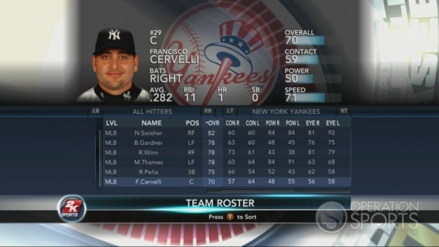 Major League Baseball 2K10 Screenshot #73 for Xbox 360