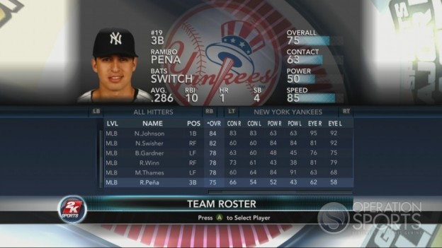 Major League Baseball 2K10 Screenshot #74 for Xbox 360