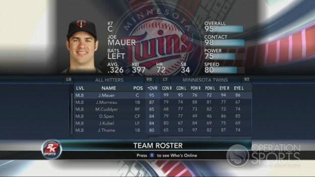 Major League Baseball 2K10 Screenshot #85 for Xbox 360