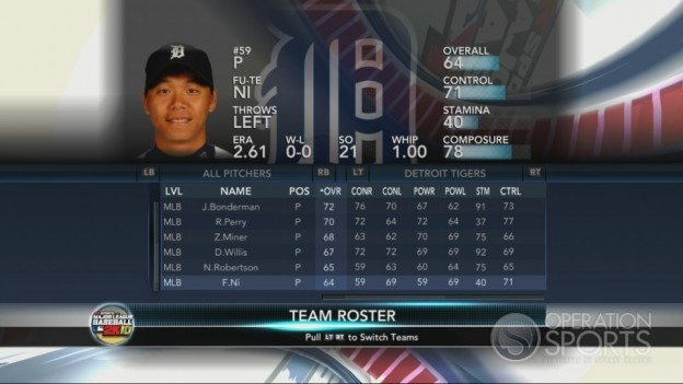 Major League Baseball 2K10 Screenshot #87 for Xbox 360